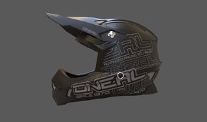 motocross helmet 3D