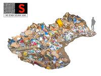 wastepaper garbage 3D model