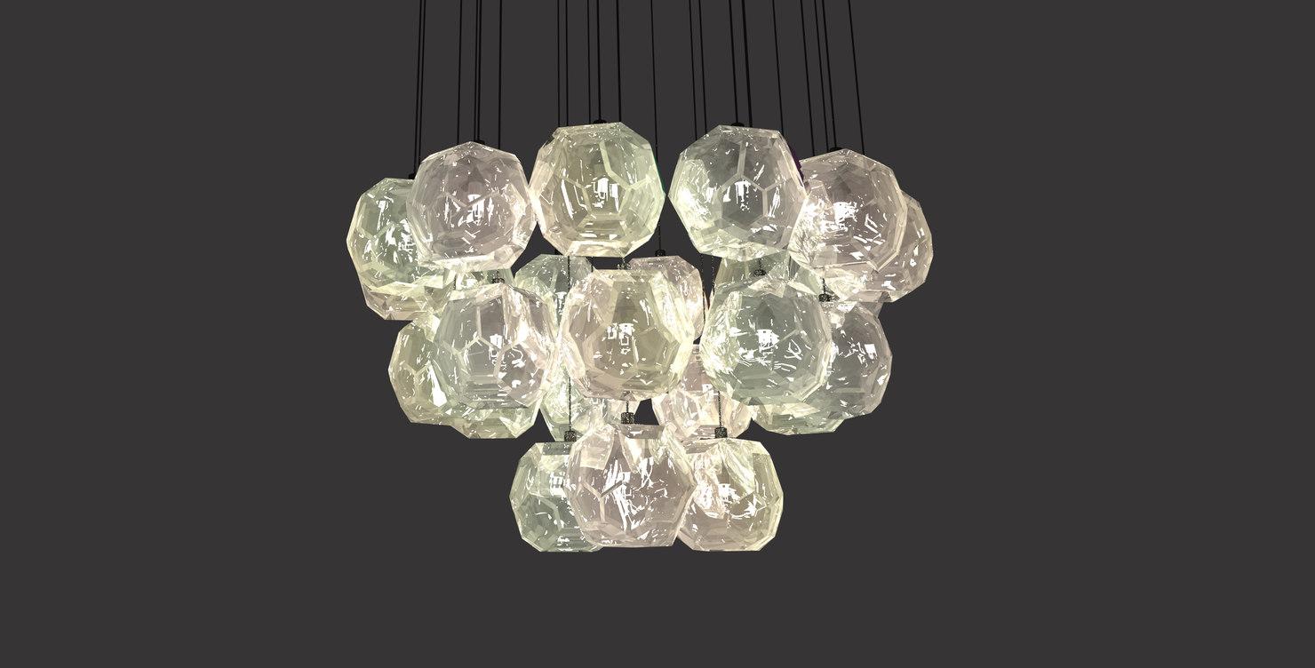 unique chandelier model