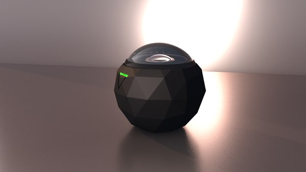 3D 360 camera e