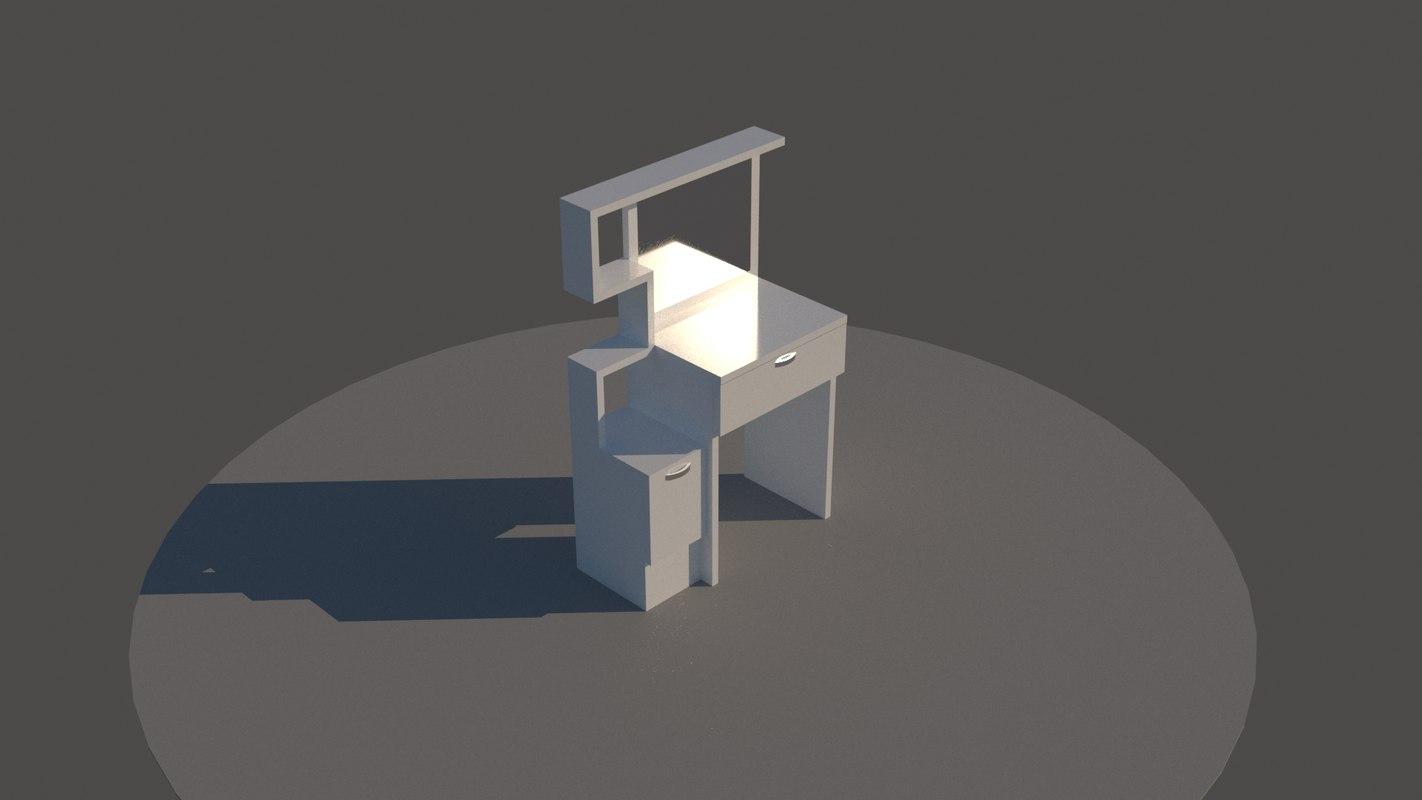 3D make desk