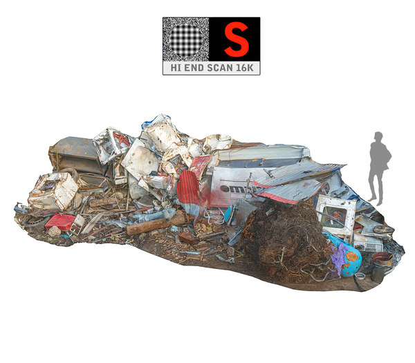 3D model scanned 16k