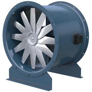 axial flow fan 2 model