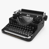 antique typewriter model