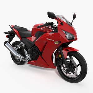 honda cbr300r 2016 lightweight 3D model