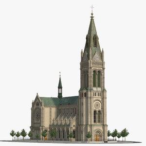blumental church model