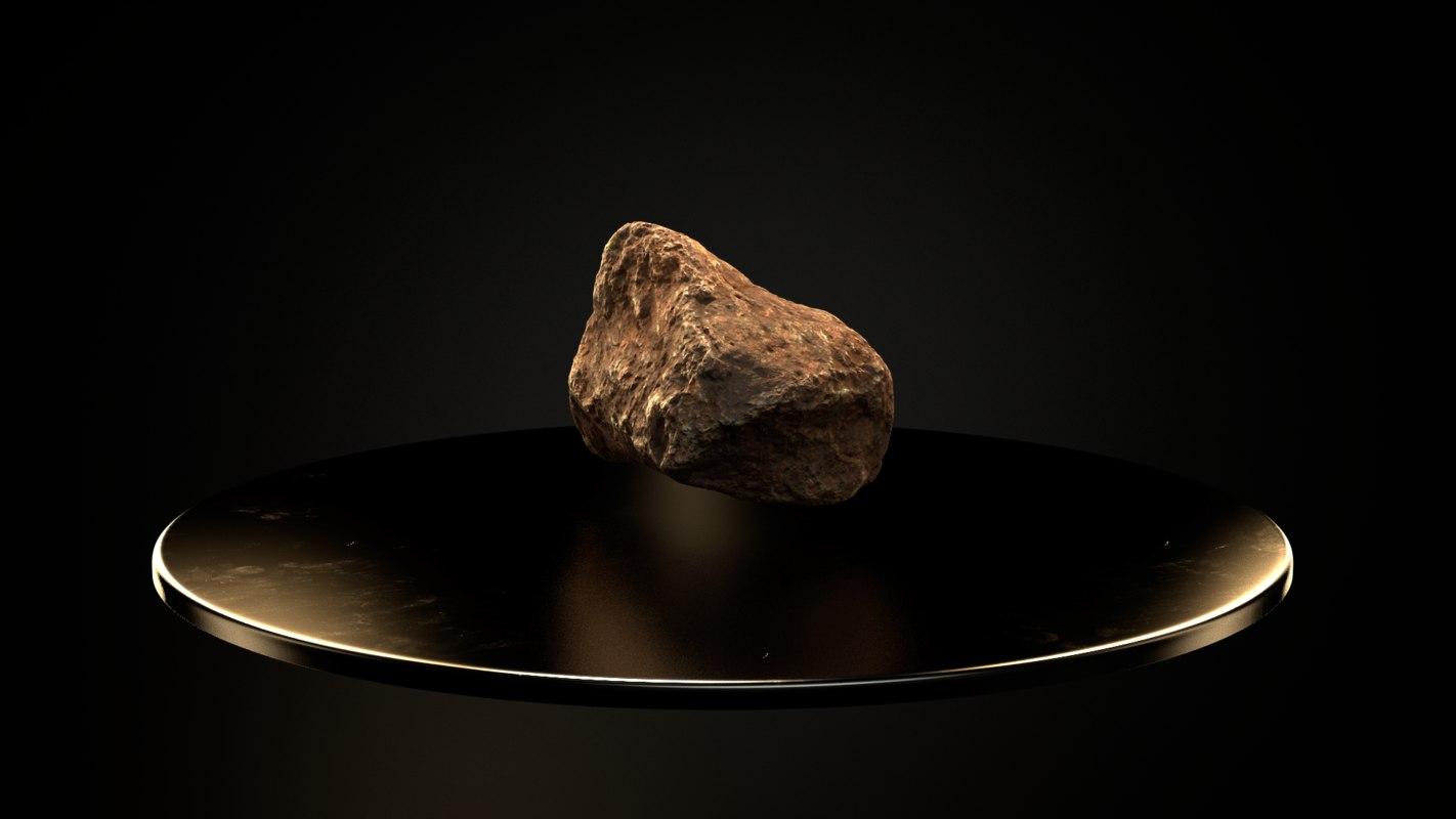 3D model scanned stones pack