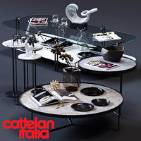 cattelan italia coffee tables 3D