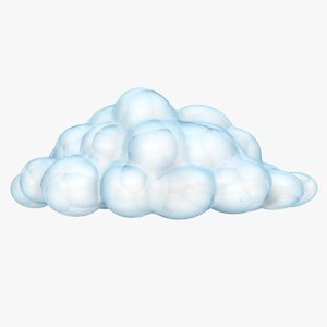 cloud scanline polygons 3D model