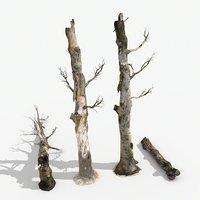 dead trees 3D model