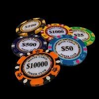 casino chip 3D model