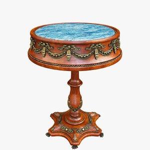 table antique 3D