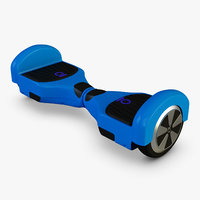 hoverboard chic 3D