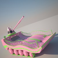 scifi fresh tank model