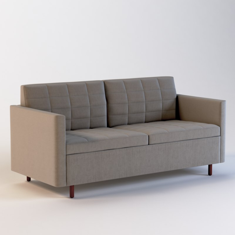 3D realistic photoreal seat