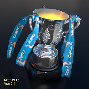 football cup 3D
