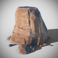 rocky formation octane 3D model