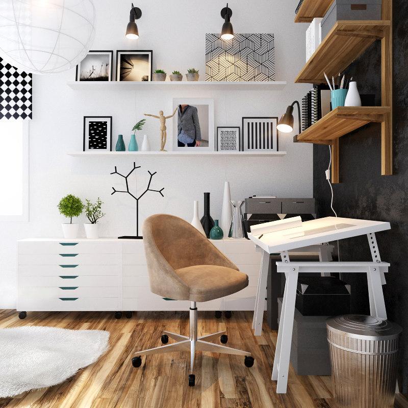 3D decor carpet model