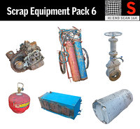 scrap equipment pack 6 model