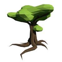tree blender 3D model