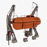 lifeboat dragon 32 3D model