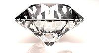 excellent cut diamond 3D model