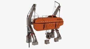 lifeboat dragon 32 3D model
