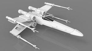 3D x-wing model