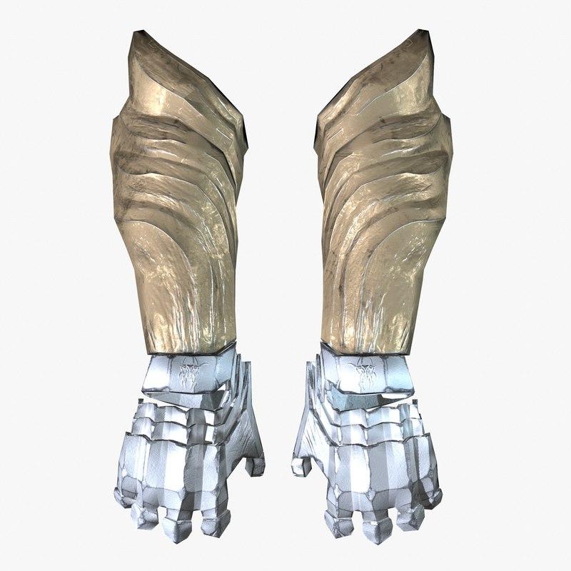 3D arm armor