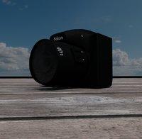 3D nikon p510 camera