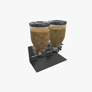 zevro dry food dispencer 3D model