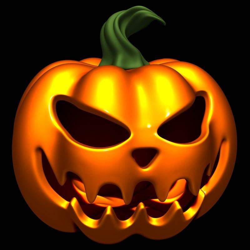 halloween pumpkin 3D