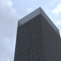 story skyscraper building 3D model