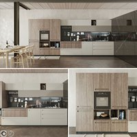 3D kitchen cucina mood stosa