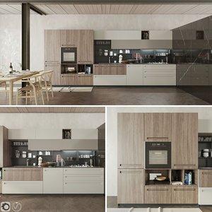 3D kitchen cucina mood stosa