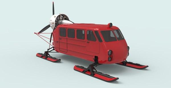 3D sleds aero model