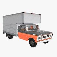 truck f-350 3D model