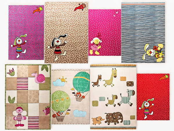 3D model children rugs