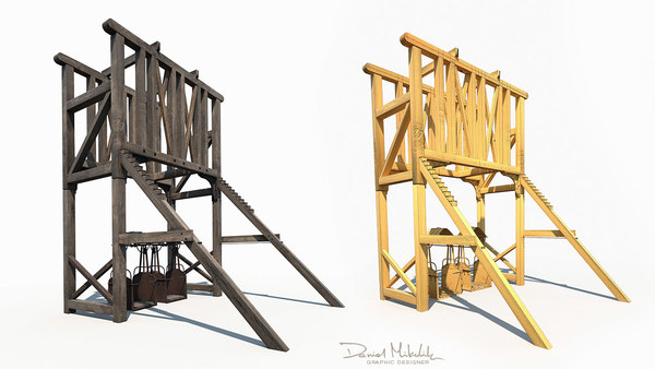 3D old construction