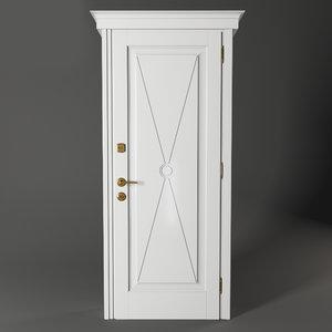 3D lendoor simphony 711 bianco model