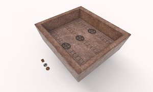 duodecim scripta board 3D model