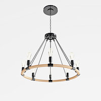 chronos chandelier 3D