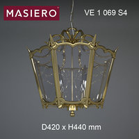 chandelier masiero brass spots model