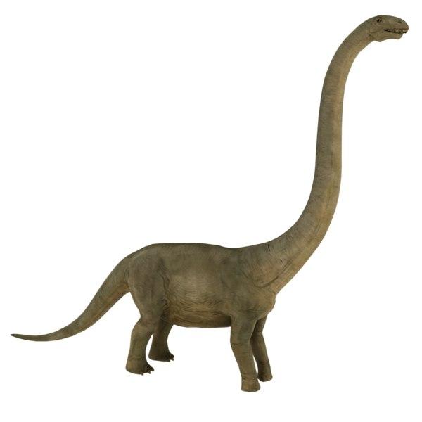 3D model brontosaurus
