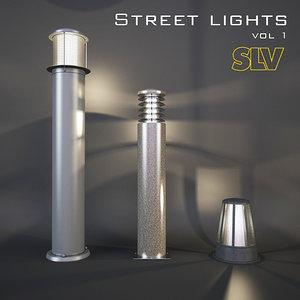 3D modern street slv