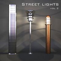 modern street 3D