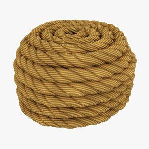 rope scanline 3D model