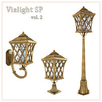 3D bronze street vialight sp