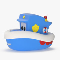 boat toy 3D