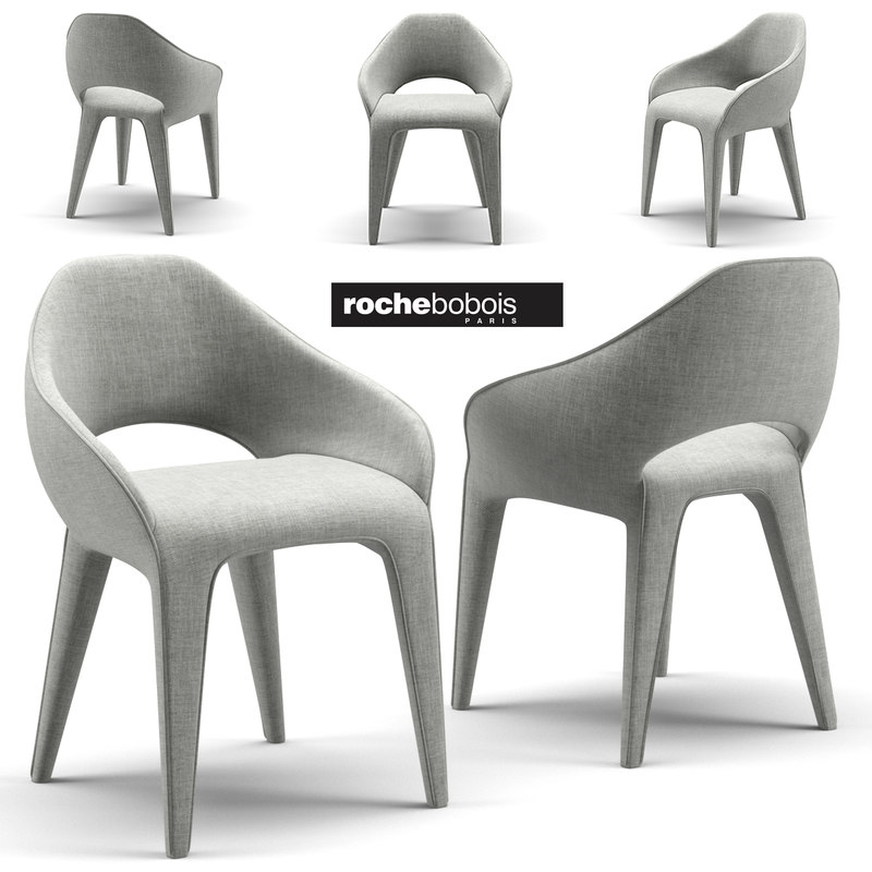 3D Chair Rochebobois Model